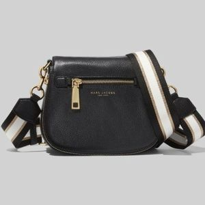 Marc Jacobs Gotham Nomad Leather Crossbody- Black